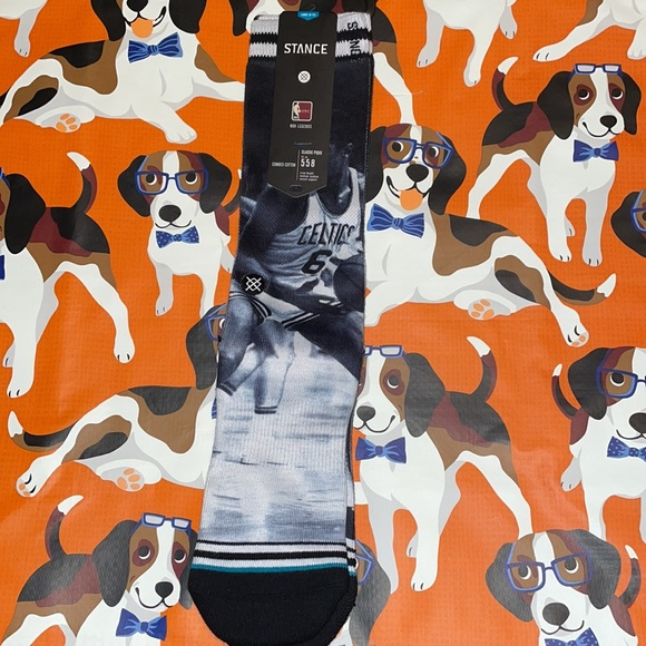 """Stance NBA Legends """"Cousy/Russell"""" Classic Socks"""